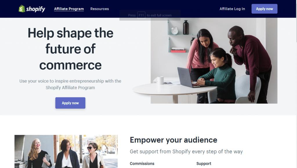 Shopify Affiliate Reviews