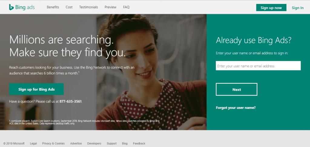 Bing Ads Monsterclaw LLC